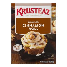 Baking Mixes: Krusteaz Cinnamon Roll Mix