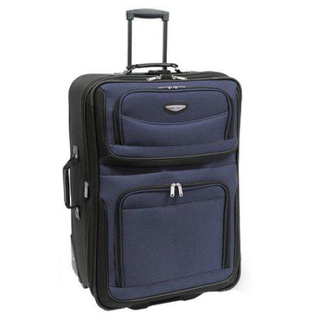 "Traveler's Choice Amsterdam 25"" Expandable Rolling Upright Luggage"