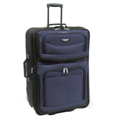 Travelers Choice Amsterdam 25u0022 Expandable Rolling Upright Luggage