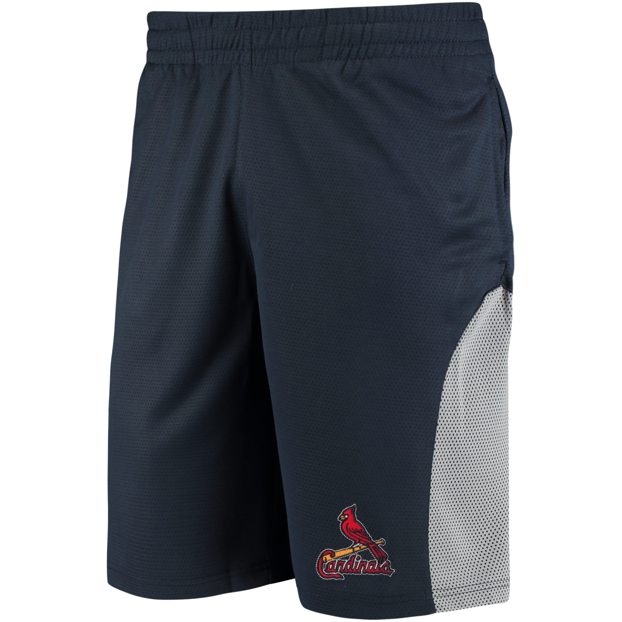 St. Louis Cardinals Stitches Athletic Mesh Shorts - Navy