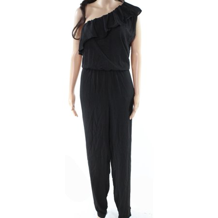 53318c26cbb Vilover Jumpsuits   Rompers - Vilover Womens Ruffle Chiffon One Shoulder  Jumpsuit - Walmart.com