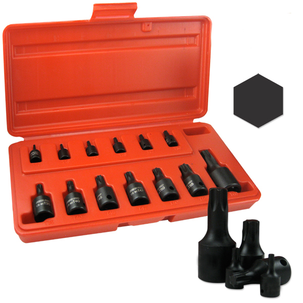 Pro 14 Piece Mm Hex Impact Socket Set Metric