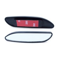 TSV Universal 2 Pack Auto 360 Wide Angle Convex Rear Side View Blind Spot Mirror for Car