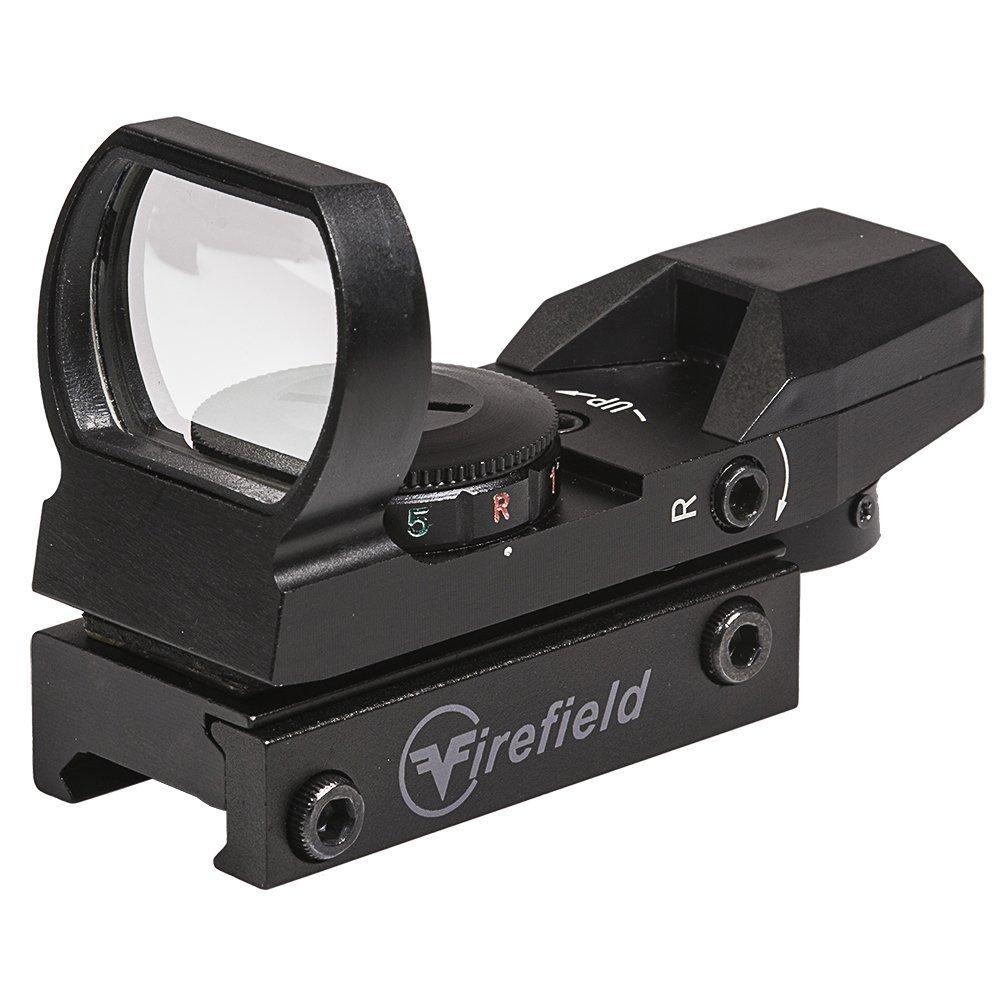 Reflex Sight, Tactical Pistol Rifle Shotgun Airsoft Reflex Sight, Red green by Firefield