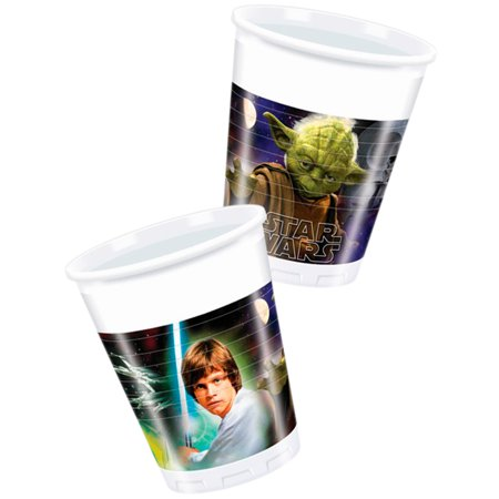 Star Wars Classic 6.75 oz. Plastic Cups (6 Count) - Party Supplies