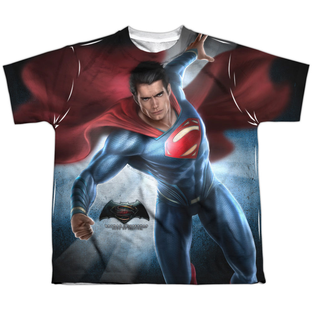 Men's Superman Light Sublimation T-shirt White