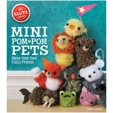 Mini Pom Pom Pets Book Kit- (Pom Pom Dogs)
