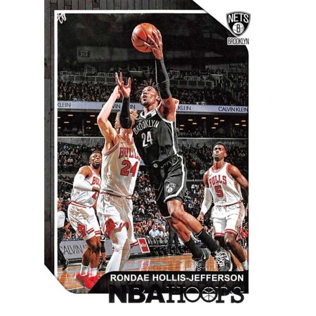 Jefferson Ball - 2018-19 Panini Hoops #108 Rondae Hollis-Jefferson Brooklyn Nets Basketball Card