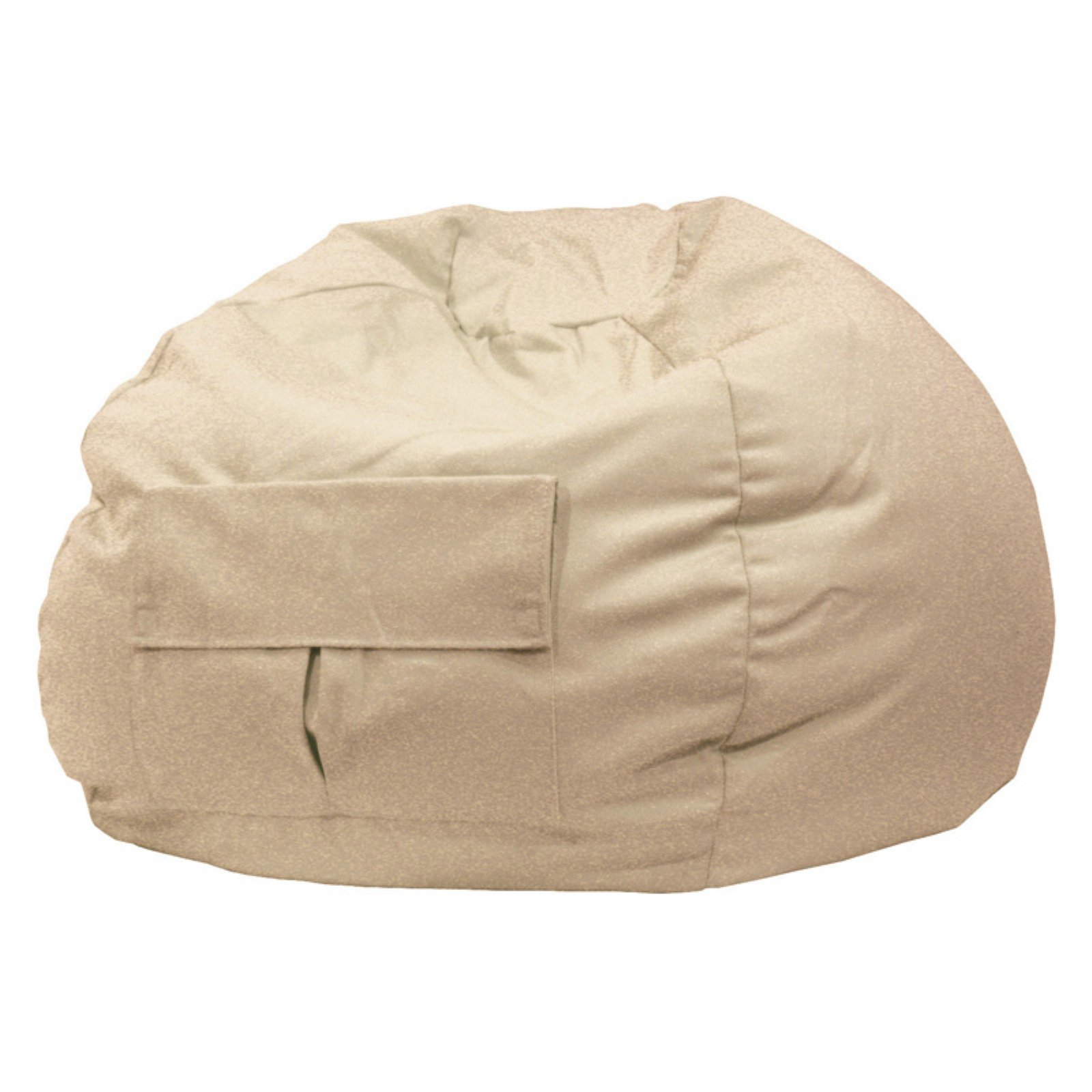XXL Denim Look Bean Bag with Cargo Pocket