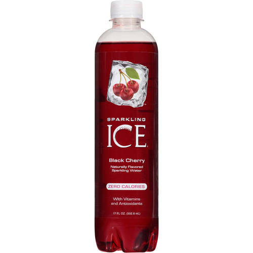Sparkling ICE Black Cherry Sparkling Water, 17 floz