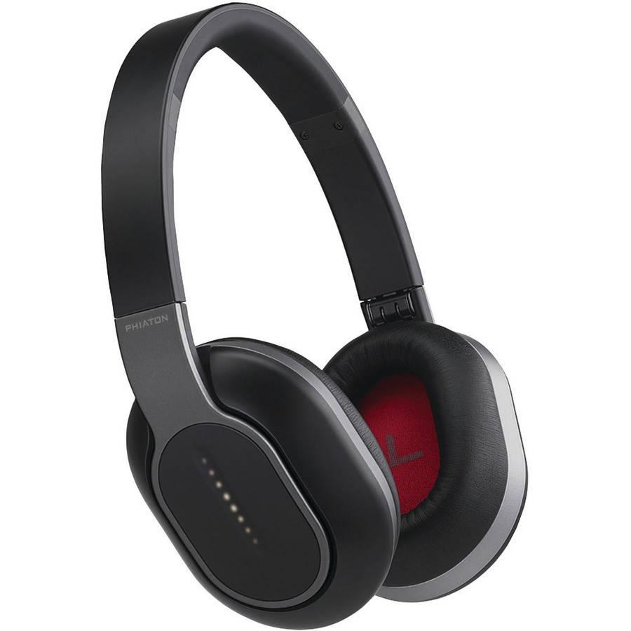 Phiaton BT 460 Over-Ear Bluetooth Headphones with Microphone