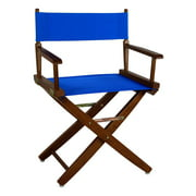 Extra-Wide Mission Oak Frame Premium Directors Chair