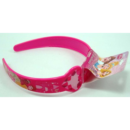 Disney Princess Pink Headband with Pictures of Princess Characters](Princess Headband)