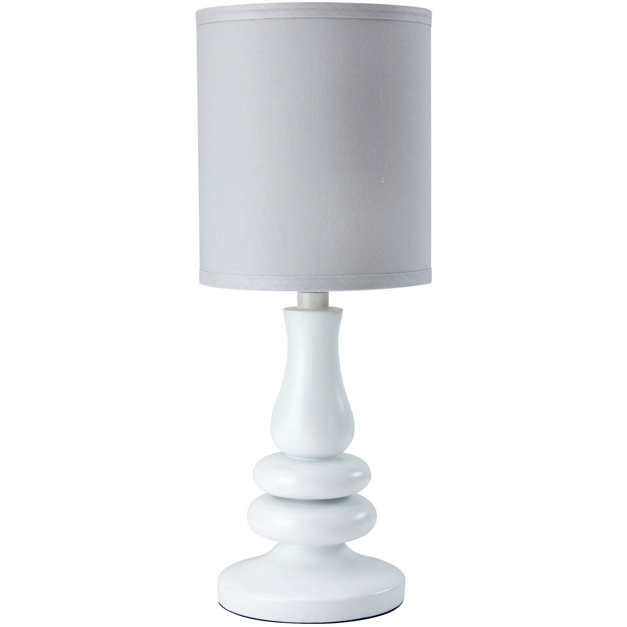 Little Love Lamp & Shade, White Grey by Little Love by NoJo