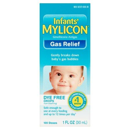 Infants Mylicon Gas Relief Dye Free Drops  1 Fl Oz
