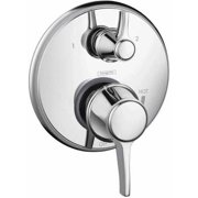 Hansgrohe 04449920 Metris C Pressure Balanced Valve Trim with Integrated Diverter, Less Valve, Various Colors
