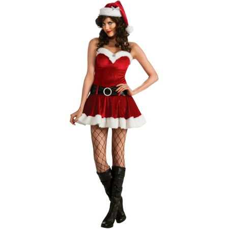 Womens Adult  Mrs Ms Santa Claus In Training Christmas Costume - Mrs Santa Claus Suit