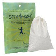 SMELLEZE Reusable Office Odor Removal Deodorizer Pouch: Remove Smell in 200 Sq. Ft. Without Chemicals