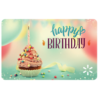 Birthday Joy Walmart eGift Card