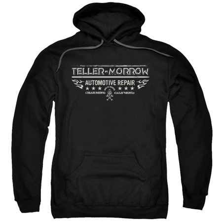 Anarchy Hoody - Sons of Anarchy TV Show Teller Morrow Adult Pull-Over Hoodie