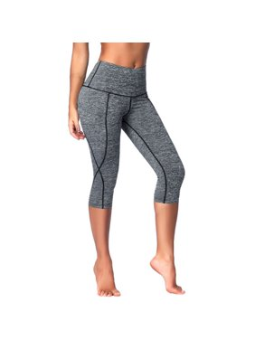 e7423569cde933 Product Image Women's Yoga Running Pants Tights Tummy Control Workout  Running Way Stretch 7 Point Pants Tight Trousers