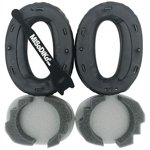 misodiko Replacement Ear Pads Cushion with Clip Ring - for Sony WH1000XM2, MDR-1000X   Headphones Repair Parts Earpads with E