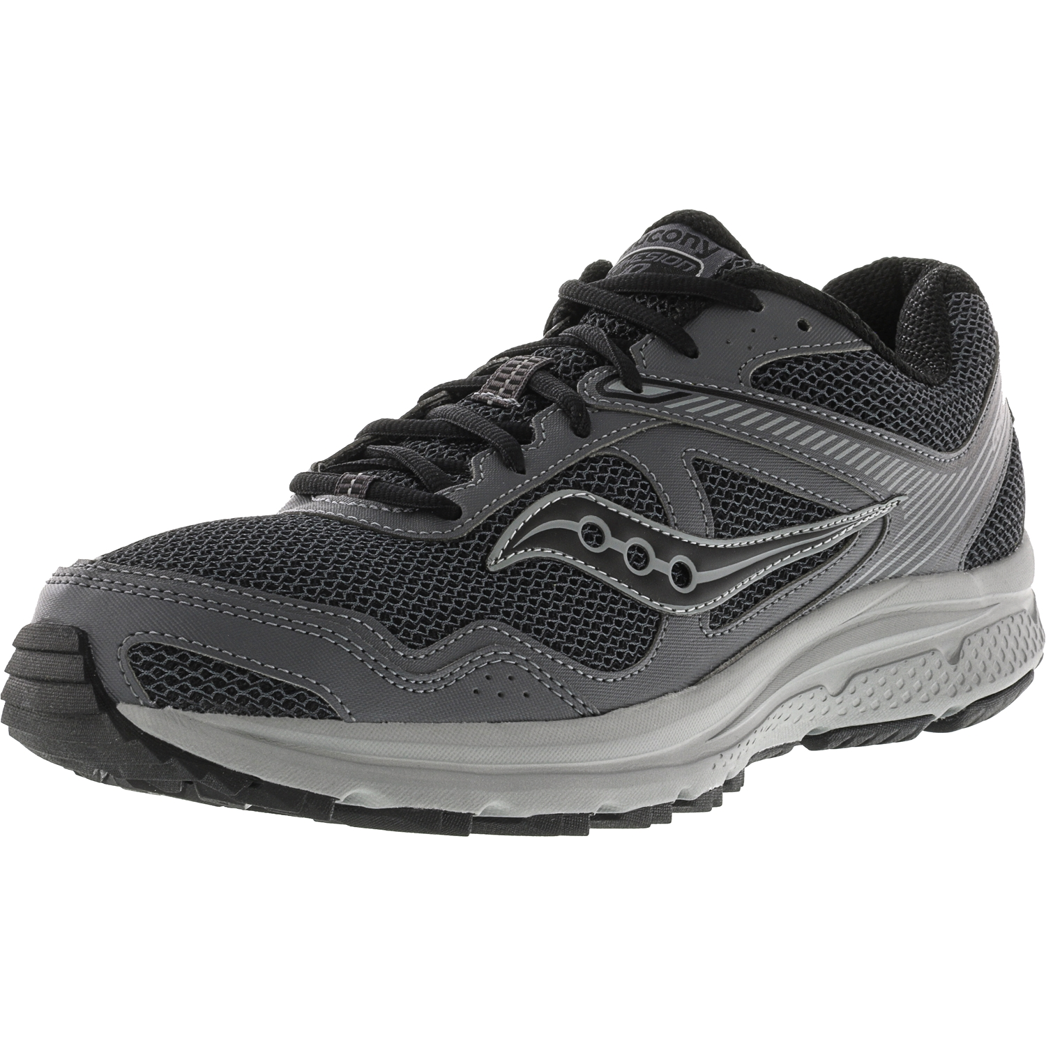 Saucony Men's Cohesion Tr 10 Charcoal   Grey Ankle-High Running Shoe 11M by Saucony
