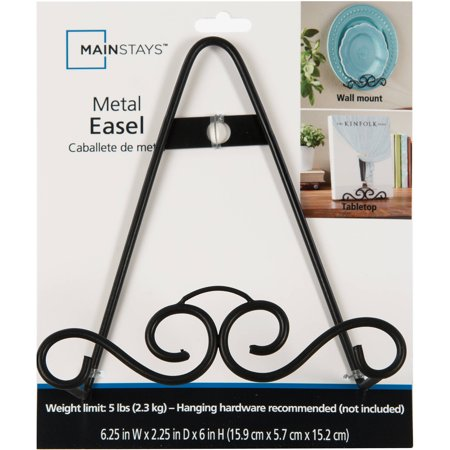 Easel Glass Frames (Mainstays Metal Scroll Easel Photo Frame )