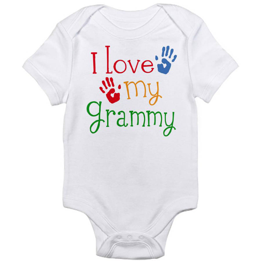 Cafepress Newborn Baby Love Grammy Bodysuit
