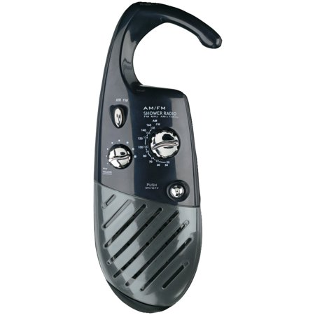 Conair SR10X Shower Radio (Black) (Finding The Best Waterproof Shower Radio)