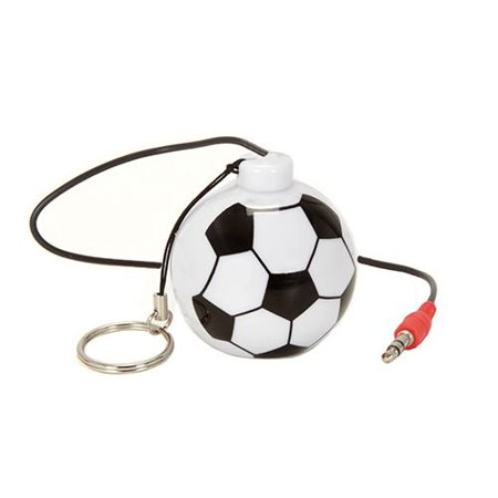 - Sound Logic Soccer Keychain Rechargeable Speaker