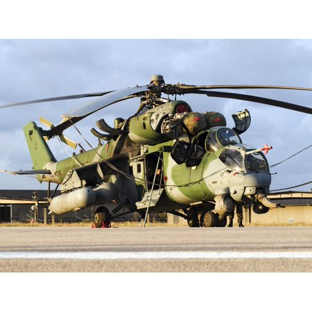 A Brazilian Air Force AH-2 Sabre in Natal Brazil during the Exercise Cruzex 2013 Poster