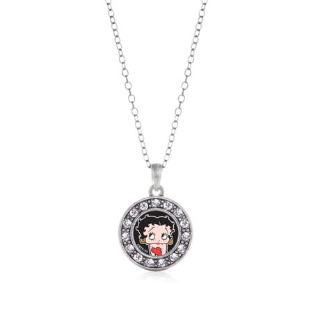 Betty Boop Circle Charm Necklace ()