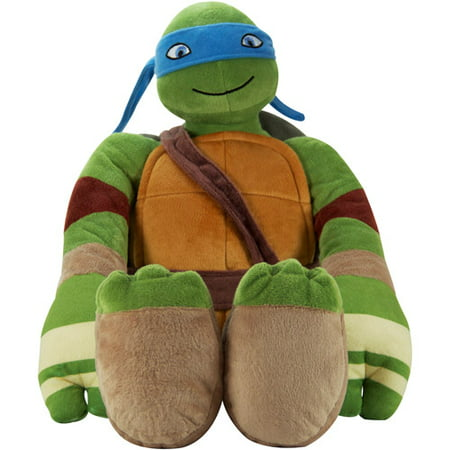 Teenage Mutant Ninja tortugas Leonardo Pillowbuddy + Teenage en Veo y Compro