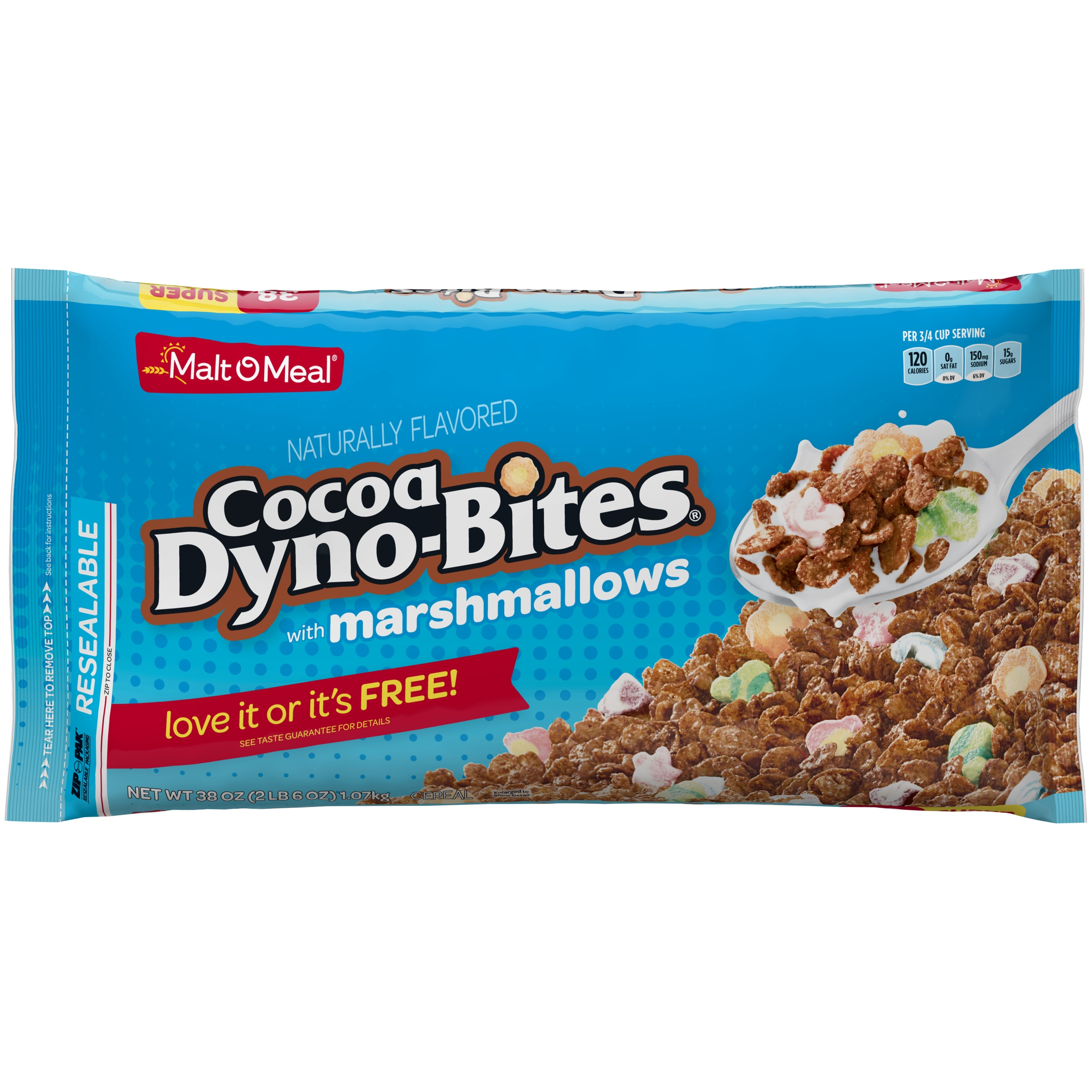 Malt-O-Meal Breakfast Cereal, Coco Dyno-Bites