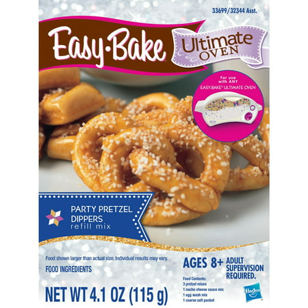 Easy-Bake Ultimate Oven Party Pretzels Refill Pack, Ages 8 and up