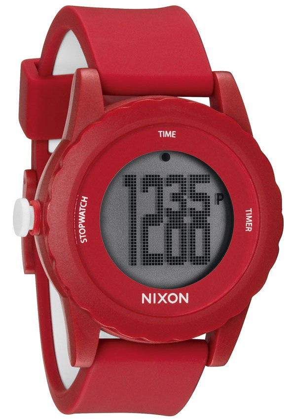 The Genie Digital Silicone Mens Watch A326200