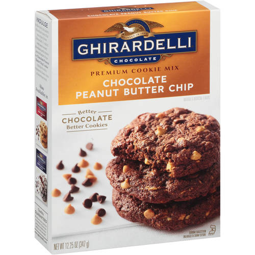 Ghirardelli Chocolate Peanut Butter Chip Cookie Mix, 12.25 oz