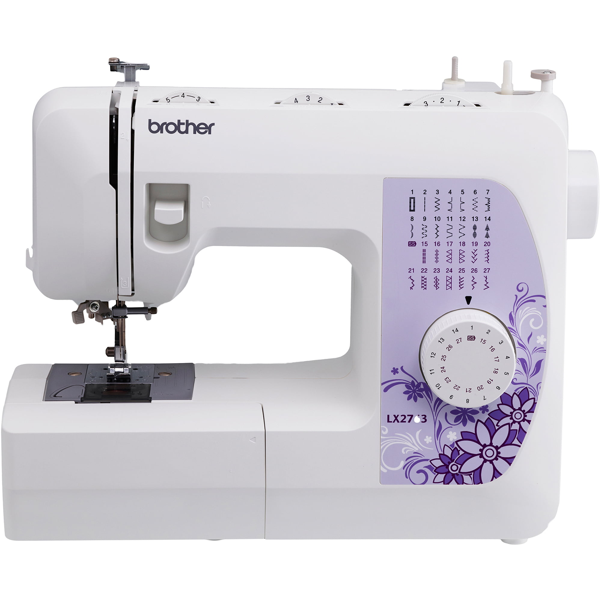 Brother 27 Stitch Sewing Machine Drop In Bobbin Portable