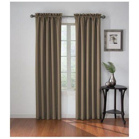 Eclipse Corinne Room Darkening Window Curtain Panel