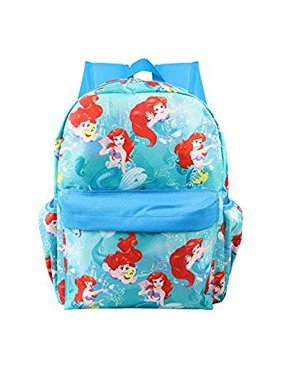 18fcd686428 Product Image Small Backpack - Disney - Little Mermaid Ariel Blue Allover  12