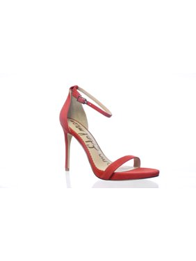 ccbc1c5a7b Product Image Sam Edelman Womens Ariella Candy Red Ankle Strap Heels Size 8