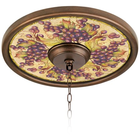 Tuscan Bronze Reflector - Tuscan Grapes 16