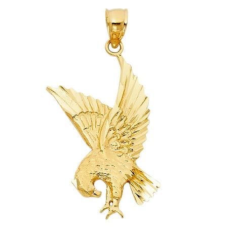 14k yellow gold eagle pendant walmart 14k yellow gold eagle pendant aloadofball Gallery