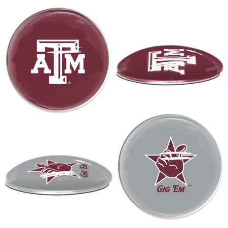 Texas A Aggies Official NCAA  Sport Dotts Magnet 2 Pack by Wincraft