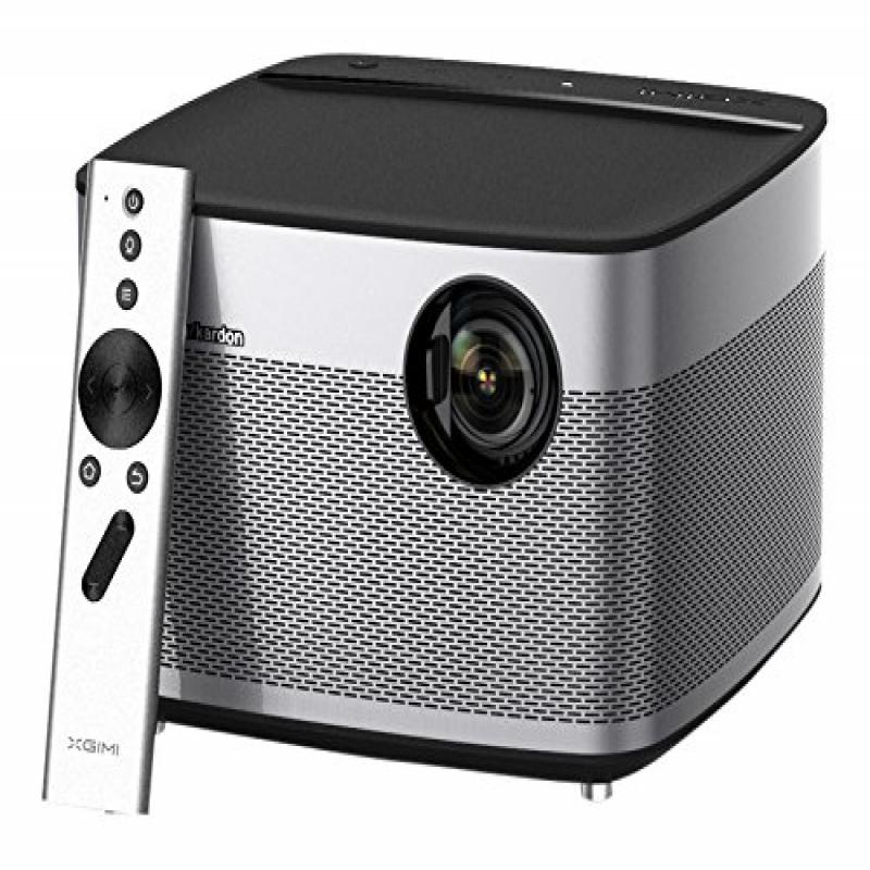 1080p Projector, XGIMI H1 Native 1080p HD DLP Projector 3D Android 5.1 Smart Projector TV with Harman Kardon... by XGIMI