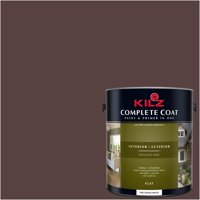 Burnt Clay, KILZ COMPLETE COAT Interior/Exterior Paint & Primer in One, #LM120