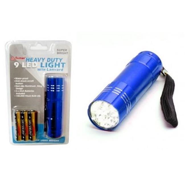 Deluxe Import Trading 8-LED9 9 Led Light - 48 Packs