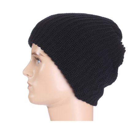 Fashion Winter Male Ball Cap Knit Crochet Hat Soft Warm Beanie Caps Men s  Skullies Beanies(multiple colour) - Walmart.com 96301790931