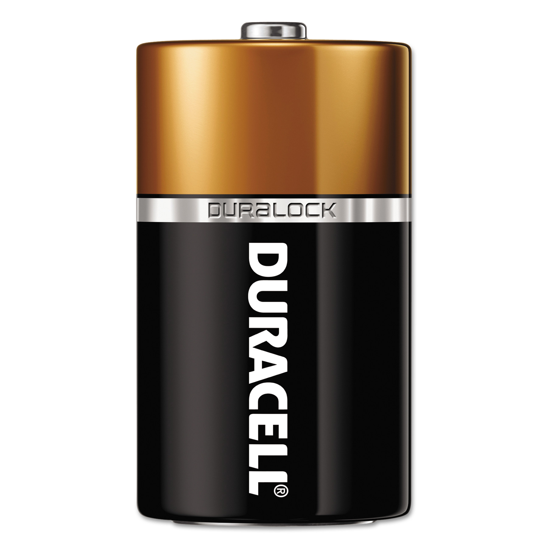Duracell CopperTop Alkaline Batteries, D, 72/CT -DURMN1300BKD